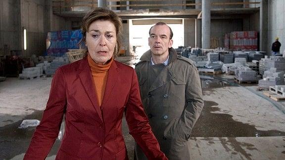 Andreas Keppler (Martin Wuttke) und Hannah Wessel (Thekla Carola Wied)