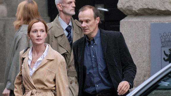 Edgar Selge und Katja Flint als Ehepaar Molitor