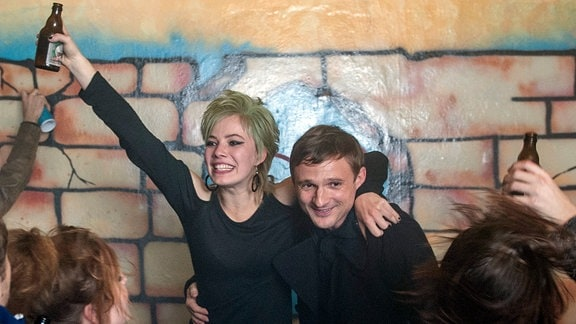 Florian Lukas als Martin und Saskia Rosendahl als seine Tochter Lisa