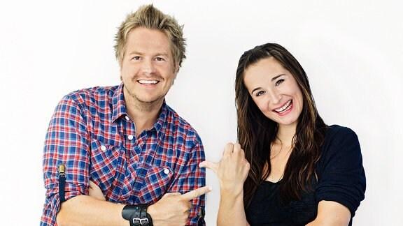 Lars-Christian Karde und Sarah von Neuburg