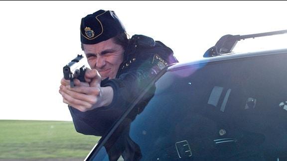 Pontus (Sverrir Gudnason) bei der Verfolgung flüchtender Gangster