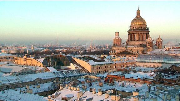Sankt Petersburg - die nördlichste Millionenmetropole der Welt.