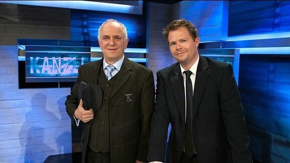 Lothar Bölck und Michael Frowin (v.l.).
