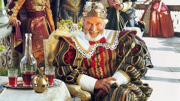 Vladimir Brabec als König
