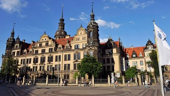 Residenzschloss in Dresden heute.
