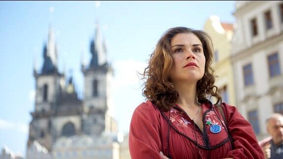 Katharina Wackernagel als Elke