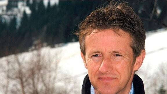 Jens Weißflog, Olympiasieger Skispringen.
