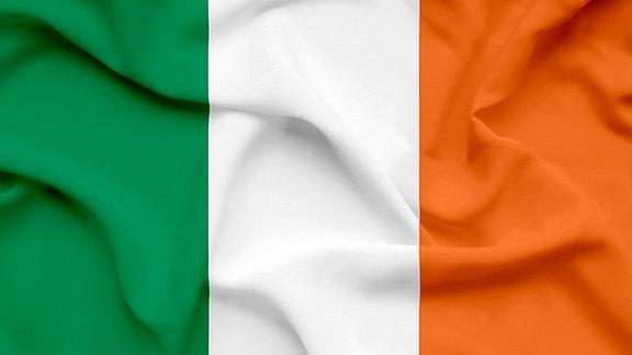 Die Fahne Irlands