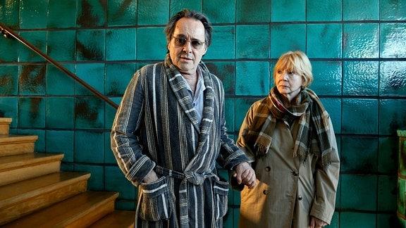 Konrad Keller (Uwe Kockisch), Katharina Taubert (Christine Schorn)