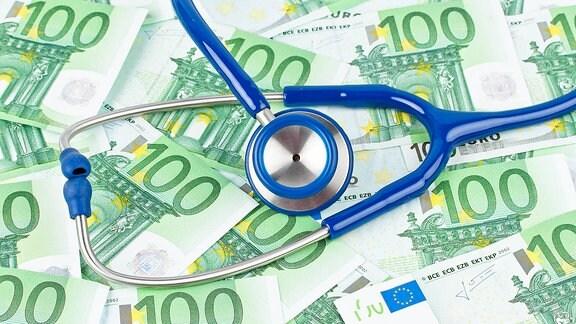 Illustration: Rechnung der Krankenkasse