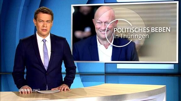 MDR extra: Politisches Beben in Thüringen