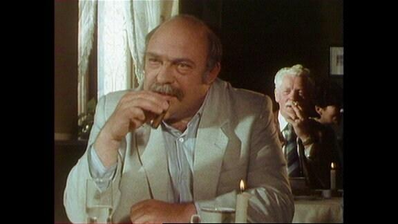 Wolfgang Dehler in der Rolle als Hermann Schindler