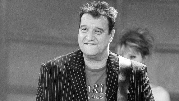 Sänger Michael Barakowski ( GER ) während der Aufzeichnung der MDR - Silvestergala Spass ist für alle da! - mit dem MDR ins Jahr 2010 am 22.10.2009 in Stollberg.