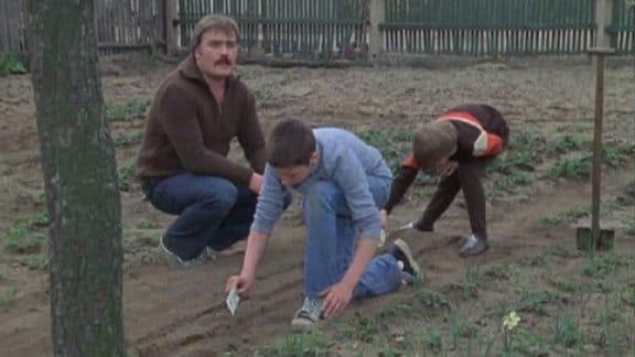 """Szene aus """"Neues übern Gartenzaun"""""""