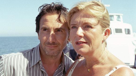 Barbara (Jutta Speidel) und Enrico (Bruno Maccallini)