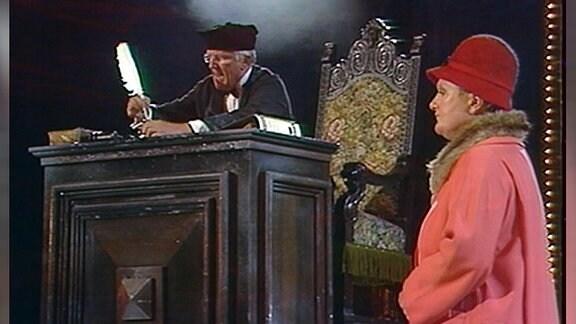 Hammer für zwei, Ein Kabinettstück mit Helga Hahnemann und Alfred Müller