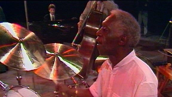 Art Blakey & The Jazz Messengers in der Jazzbühne Berlin 1989