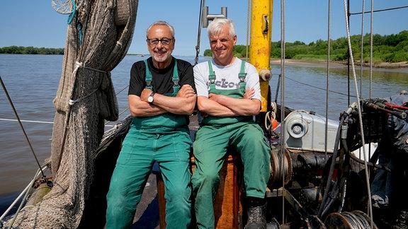 Wolfgang Stumph, Lothar Buckow - Elbe bei Jork