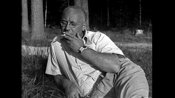 J.R.Becher auf Datsche bei Moskau ca.1940