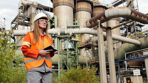 Auch das Stahlwerk Eisenhüttenstadt bereitet sich auf eine Zukunft mit Wasserstoff vor.