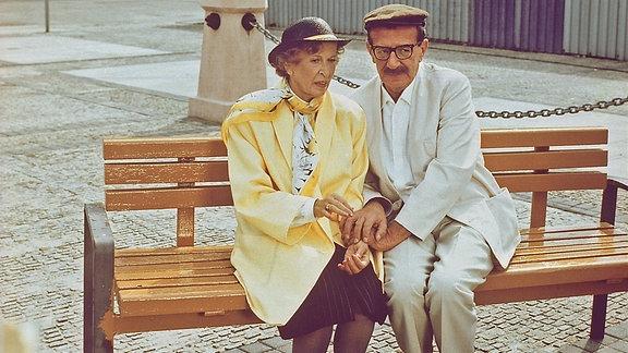 "Helga Göring und Gerd E. Schäfer in ""Maxe Baumann aus Berlin"""