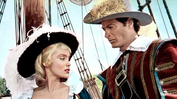 Luis Monterey (Lex Barker), noch Kapitän eines spanischen Kriegsschiffes, ist in Isabella (Estella Blain), die Nichte des Gouverneurs von Hispañola, verliebt.