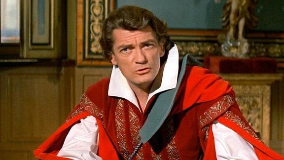 """François de Capestang (Jean Marais), """"Le Capitan"""" genannt"""