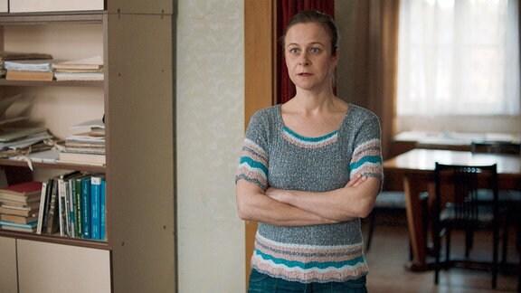 Nach Hankas Rücktritt übernimmt Markéta Masařová (Petra Špalková) das Amt der Bürgermeisterin.