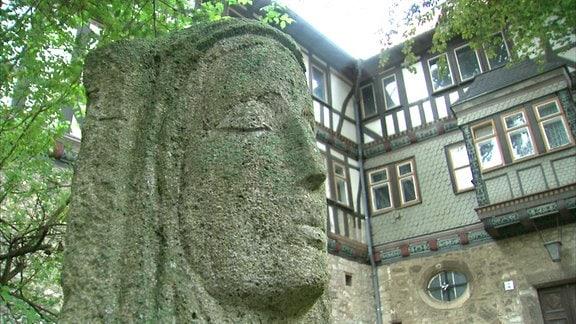 Außenansicht Kloster Anrode (Thüringen, Unstrut-Hainich-Kreis)
