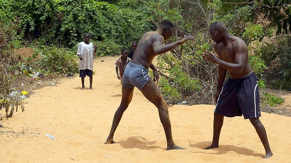 Ringen ist Nationalsport im Senegal