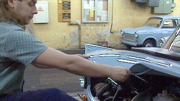 Montage Trabant 1990