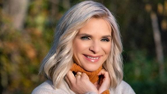 Moderatorin Uta Bresan