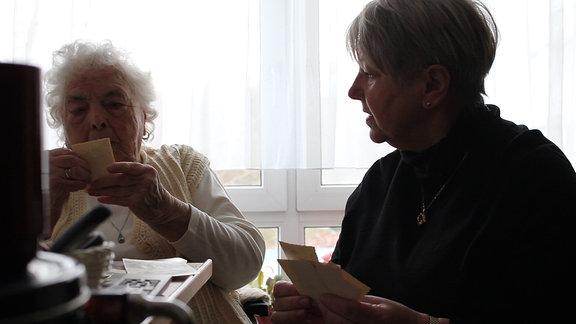 Christines Tante Brunhilde ist die einzige noch lebende Zeitzeugin, die Iwan persönlich kannte