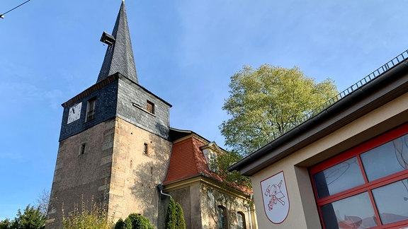 Bienstädt ist ein Dorf im Landkreis Gotha. Bis nach Erfurt sind es von hier aus nur etwas mehr als zehn Kilometer.