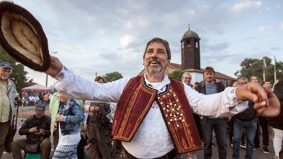 Die Nestinari haben eigene Tänze und Gesänge.