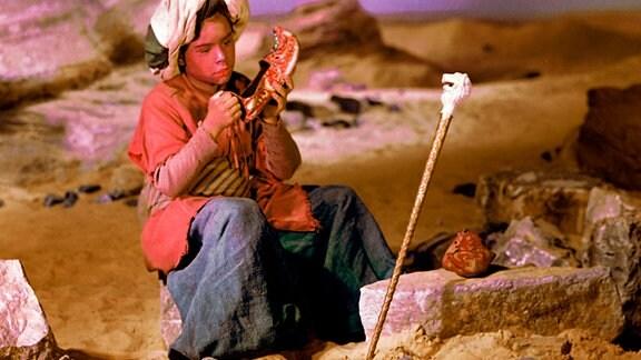 Im Orient lebt ein kleiner aufgeweckter Junge namens Muck, der einen Buckel hat und den alle verhöhnen und auslachen.