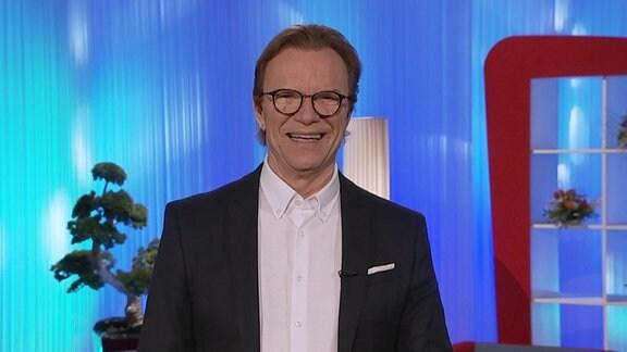 Moderator Wolfgang Lippert