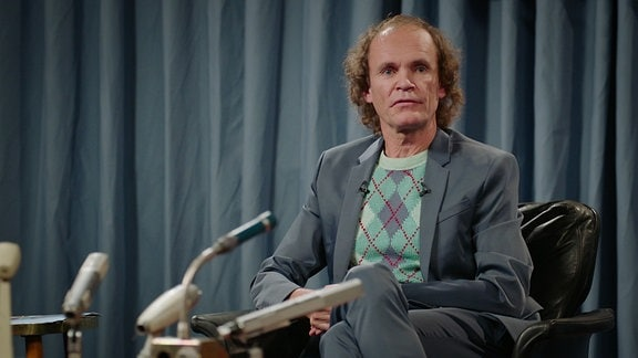 Olaf Schubert modert die Sendung »Das Gipfeltreffen«