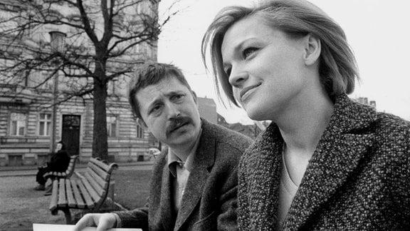Wolf Biermann und Eva-Maria Hagen