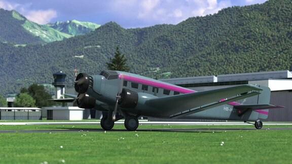 Eine Junkers 52