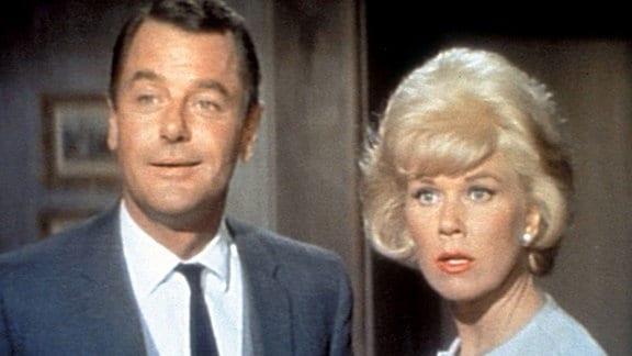 Cathy Timberlake (Doris Day) und Philip Shayne (Cary Grant).