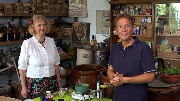 Cornelia Seidel und Carsten Lekutat