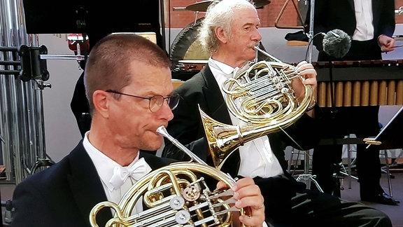 Hornist Michael Gühne