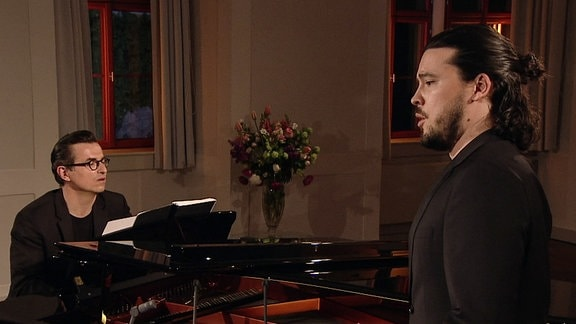 Liederabend mit Bariton Andrè Schuen und seinem Pianisten Daniel Heide