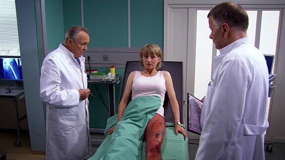 Ursachenforschung bei einer Patientin. Muss das Bein Amputiert werden?