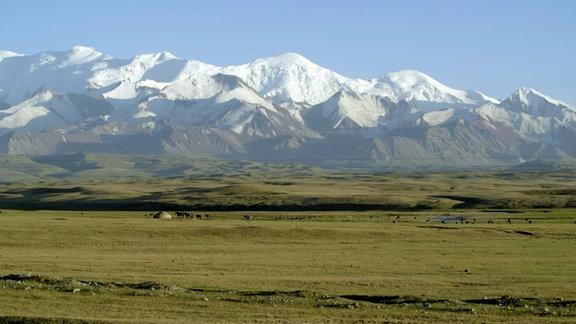 Landschaft in Kirgistan