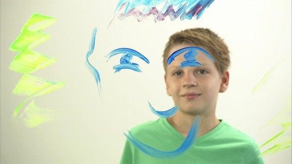 Lukas, der junge Maler