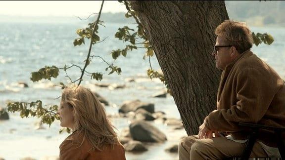Kurt Wallander mit Tochter Linda.