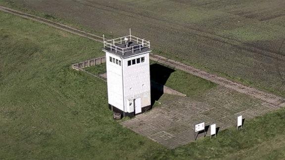 Wachturm an der Grenze