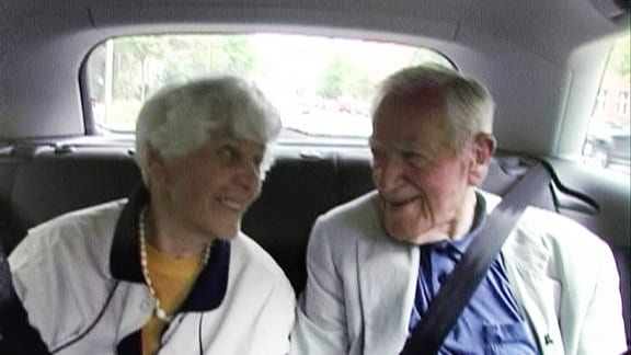 Inge Syllm und Samuel Mitja Rapoport